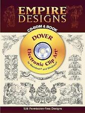 Empire Designs CD-ROM and Book (Dover Electronic Clip Art), New Books