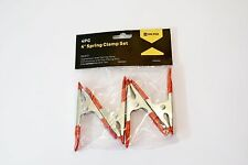 "Hiltex 4-pc. 4"" Spring Clamp Set NEW"