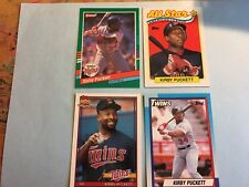 Kirby Puckett Minnesota Twins Lot