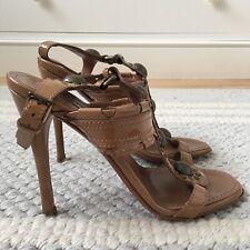 Alaïa Brown Patent Heels - Size UK 2 EU 35