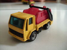 Matchbox Ford Cargo Skip Truck in Yellow/Red