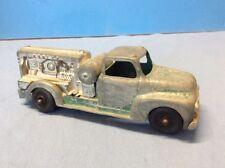 Hubley Kiddie Toy #452 Diecast Green Compressor Truck Vintage 1950s