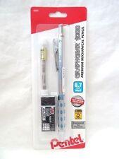 Pentel GraphGear 1000 Premium Mechanical Pencil BUNDLE, 0.7mm, & Erasers NEW