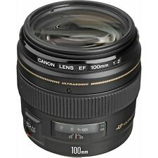 Canon EF 100mm F/2 USM LENS *BOXED*UK