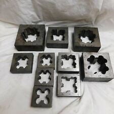 Greenfield 10 Pc. Square Threading Set 1-1/8 to 2-1/2""