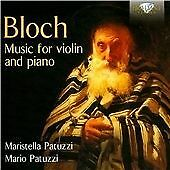 Ernest Bloch - Bloch: Music for Violin and Piano (2015)