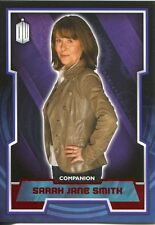 Doctor Who 2015 Red Parallel [50] Base Card #44 Sarah Jane Smith