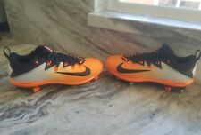 Nike Lunar Vapor Ultrafly Elite Baseball Cleats Orange/Black 852686-807 Mens 8.5