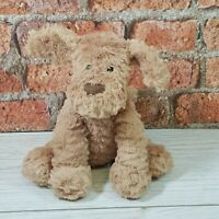 """Jellycat Fuddlewuddle Dog Soft Toy Plush Brown Puppy Baby Comforter 9"""""""