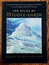 The Atlas of Middle Earth Book by Karen Wynn Fonstad Geography of J.R.R. Tolkien