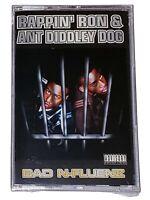 Rappin Ron & Ant Diddley Dog Bad N-Fluenz [Cassette Tape] Ant Banks Rap Hip-Hop