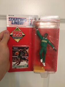 Boston Celtics Vintage 1995 Dominique Wilkins Starting Line Up Action Figure