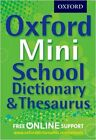 Oxford Mini School Dictionary & Thesaurus New Paperback Book Oxford Dictionaries