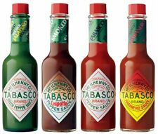 TABASCO 5 oz Bottle Hot Sauce (select flavor below)