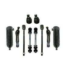 10 Pc Suspension Kit for Ford Mustang Mercury Capri Marquis Tie Rod End Sway Bar