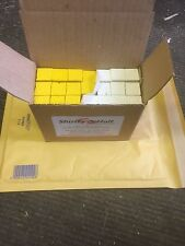 WHITE YELLOW TYRE/TIMBER/WOOD ROAD MARKING INDUSTRIAL CHALK WAX CRAYONS QTY 21