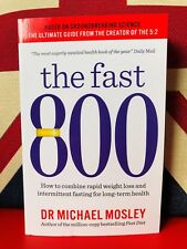 The Fast 800 by Dr Michael Mosley (Paperback 2019) Weight Loss Diet Fasting Book