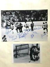 Philadelphia Flyers 1974 Stanley Cup Win Celebration Signed MacLeish Scoring