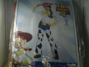 Toy Story 4 Jessie Cowgirl Halloween Costume Size Medium 7-8 Disguise