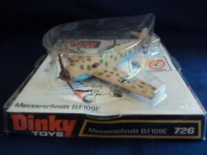 Dinky Toys 1970's Messerschmitt B.f 109E No:726 MINT Ex Shop Stock