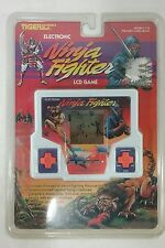 Vintage Tiger Electronics Ninja Fighter Handheld LCD Video Game-NEW nos