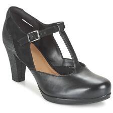 Clarks CHORUS GIA women's Court Shoes in black Size UK 7 EU 41 NH084 CC 03