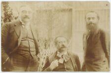 Carte photo. Alexandre Desrousseaux. Max Braemer, sculpteur. Paoli. Socialisme.