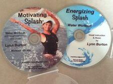 Water Aerobic Workouts Aqua Exercise CDs (MS/ES) NEW aquatic fitness