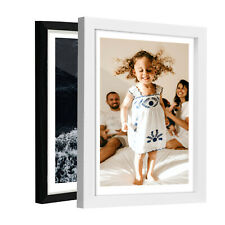 """Wall Mounted Photo Frame made of Solid Wood Picture Display 8x10"""" 12x16"""" 16x20"""""""