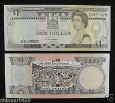 Fiji papel moneda 1 Dollar 1987 Unc