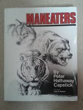 "Safari Press Book ""Maneaters"" by Peter Hathaway Capstick"