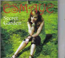 Esmaye-Secret Garden Promo cd maxi single 5 tracks