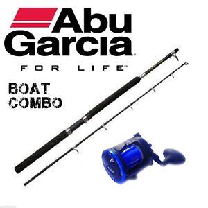 Abu Garcia Boat Rod Combo With  GFC Pre Loaded Multiplier Reel