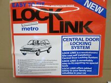 METRO CENTRAL DOOR LOCKING SYSTEM  COMPLETE KIT WITH FITTER INSTRUCTIONS