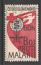 Czechoslovakia #1121 (A427) VF USED - 1962 60h Malaria Eradication, Cross & Dove