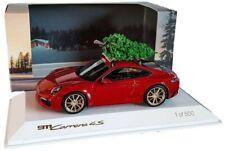 Porsche 911 992 Carrera 4S Weihnachten Christmas 2019 1:43 Spark WAXL2000002