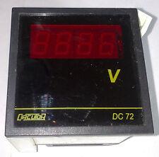 CIRCUTOR DC 72 VOLTIMETRO DIGITAL RANGO 600 V AV  230 V AC