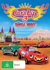 Car's Life 3 - The Royal Heist (DVD, 2013) Region 4 Children's Animated DVD VGC