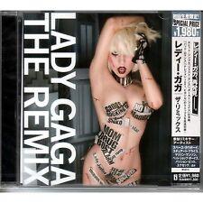 LADY GAGA The Remix Japanese CD SEALED/NEW + obi strip UICS-9118