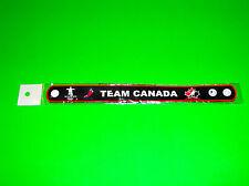 CANADA MES WOMENS OLYMPIC NHL HOCKEY TEAM WORLD JUNIORS BLACK WRISTBAND
