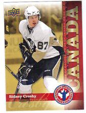 09-10 Upper Deck UD Sidney Crosby National Hockey Card Day #HCD6 Mint