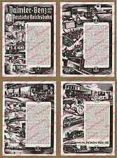 Reklame Daimler-Benz Reichsbahn Auto Lkw Mercedes Omnibus Reichsautobahn 1935!!!