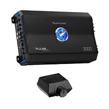 Planet Audio Pulse 3000W 1 Ohm Monoblock Class D Amplifier + Remote | PL3000.1D