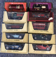 MATCHBOX YESTERYEAR JOB LOT OF 10 models in mint condition with ORIGINAL BOXES