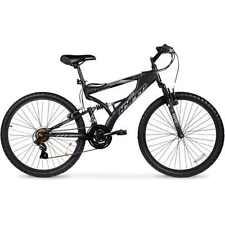 """26"""" Hyper Havoc Full Suspension Men's Mountain Bike, Black"""
