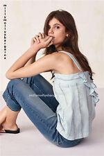 New Womens Blue Crop Flare NEXT Jeans Size 14 12 10 Regular