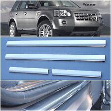 Land Rover Freelander 2 Stainless Steel Kick Plate Car Door Sill Protectors K43X