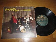 """a3 rare 10"""" vinyl record PEPPINO DI CAPRI E I SUOI ROCKERS .. Carisch Italy"""