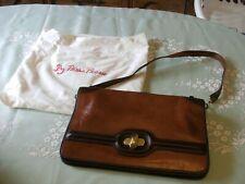Vintage Hudsons Brown Shoulder /clutch  Purse Leather France Excellent Condition