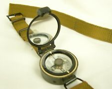 More details for british military style wrist compass from 1960's. no 12626/b